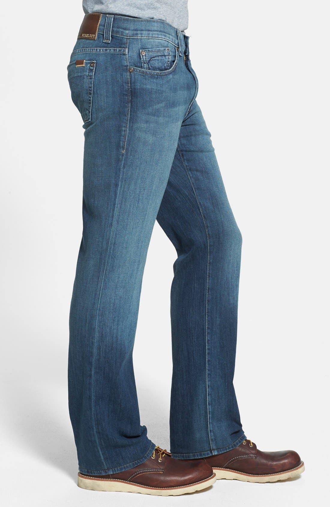 Alternate Image 3  - Fidelity Denim '5011' Straight Leg Jeans (Drifter Blue)