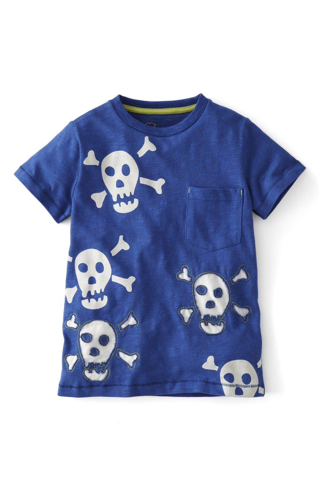 Alternate Image 1 Selected - Mini Boden 'Reverse Appliqué' T-Shirt (Toddler Boys, Little Boys & Big Boys)