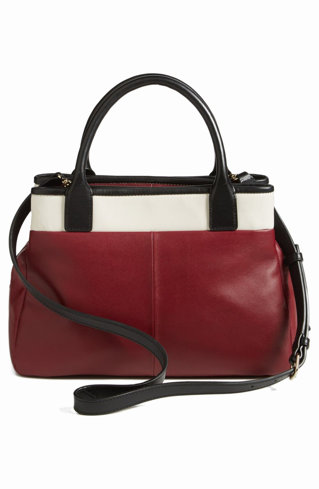 'branton square - mills' satchel,                             Alternate thumbnail 5, color,                             Braised Plum