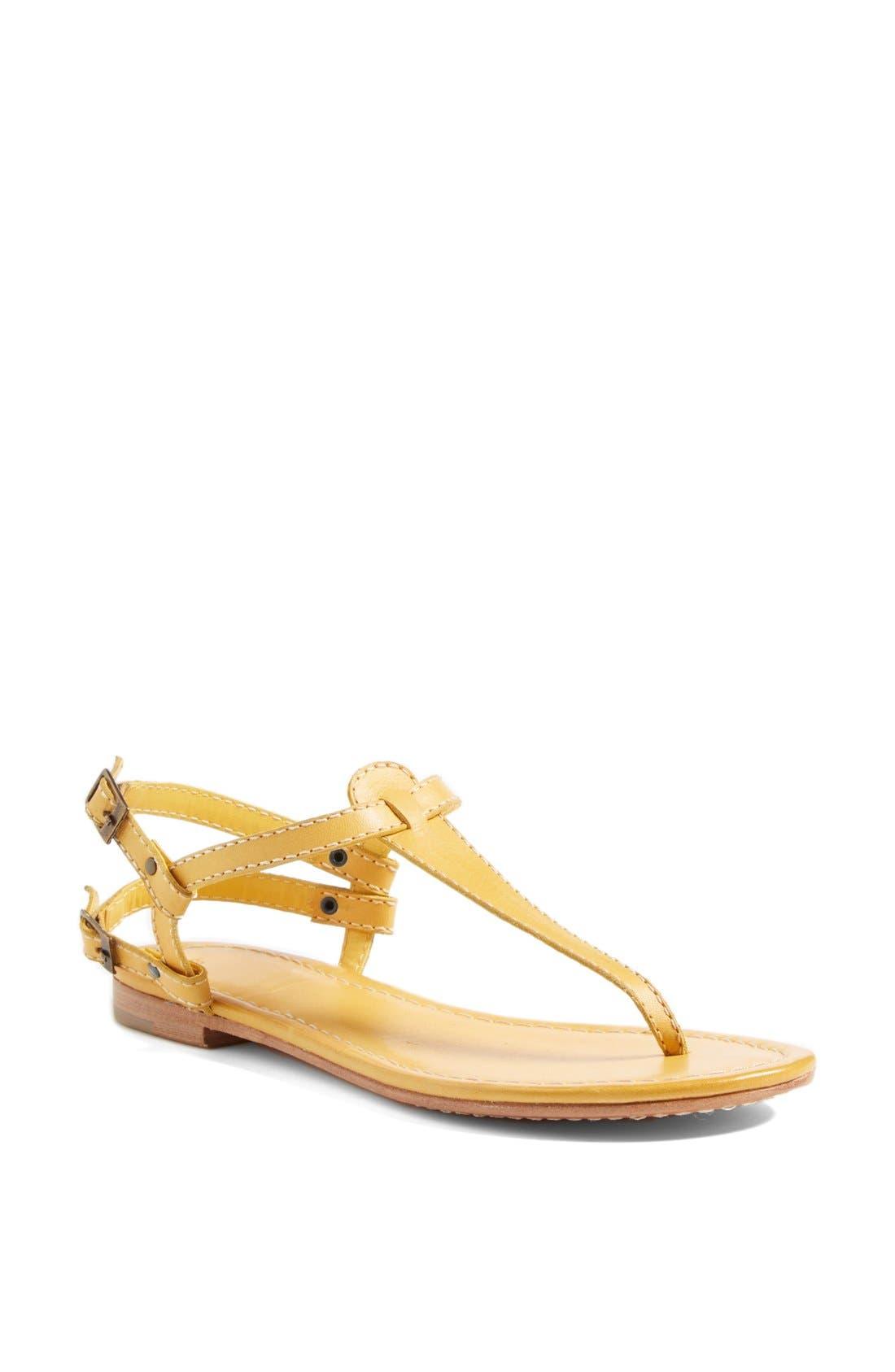 Alternate Image 1 Selected - Hinge 'Sunshine' Flat Sandal