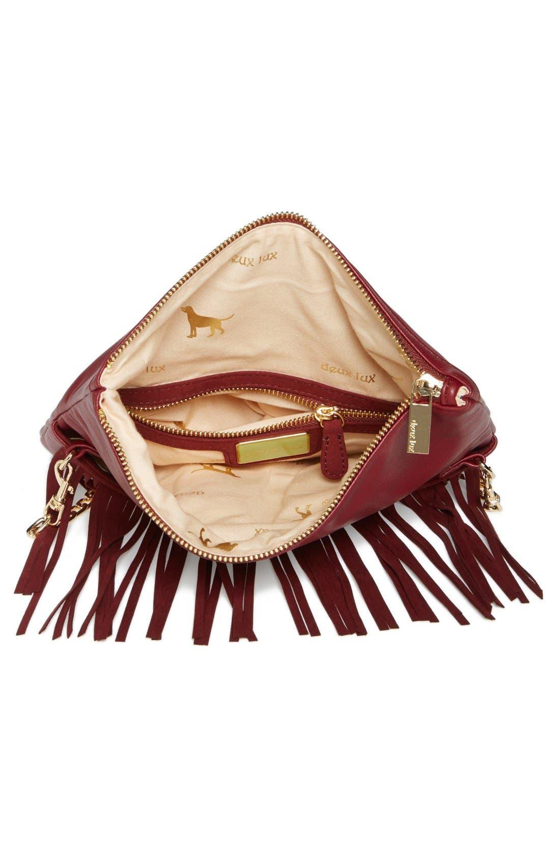 Alternate Image 3  - Deux Lux 'Joplin' Convertible Foldover Crossbody Bag