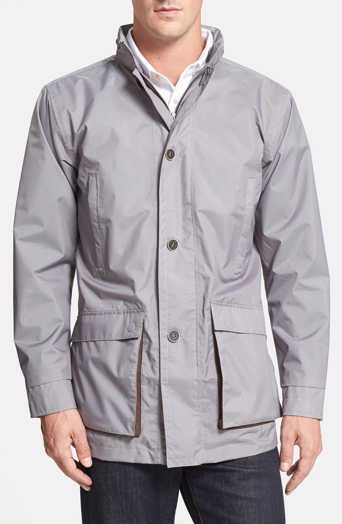 Alternate Image 1 Selected - Peter Millar 'Newport' Waterproof Full Zip Jacket