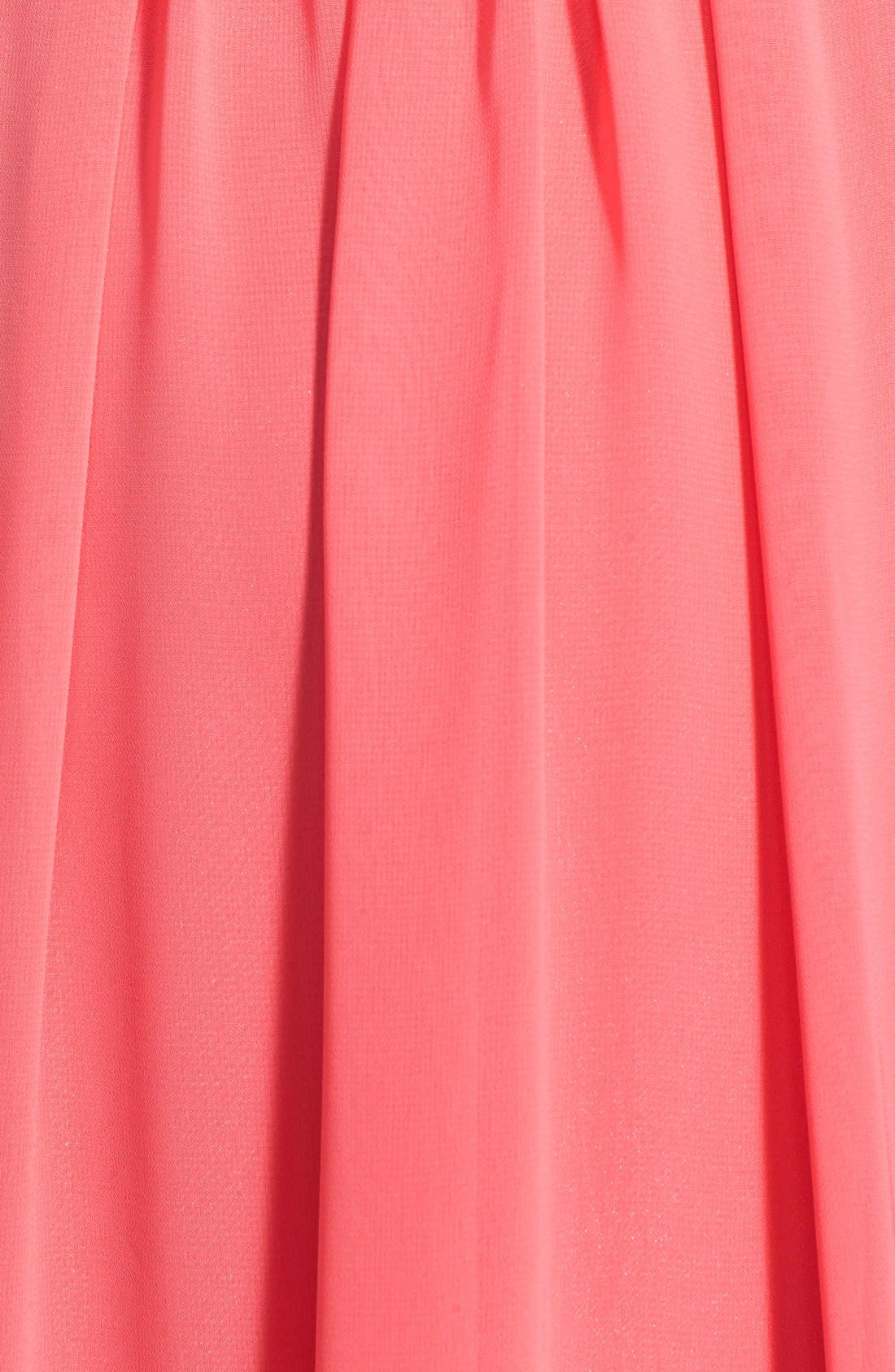 Alternate Image 3  - Eliza J Halter Chiffon Gown