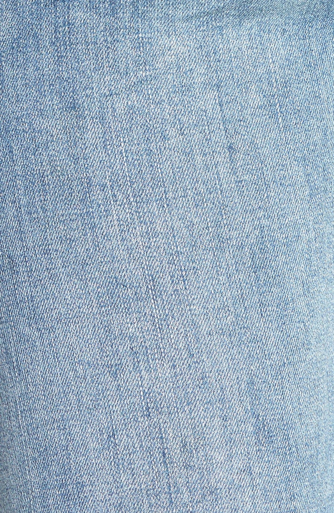 Alternate Image 3  - Free People Stretch Denim Skinny Jeans (Boston Blue)