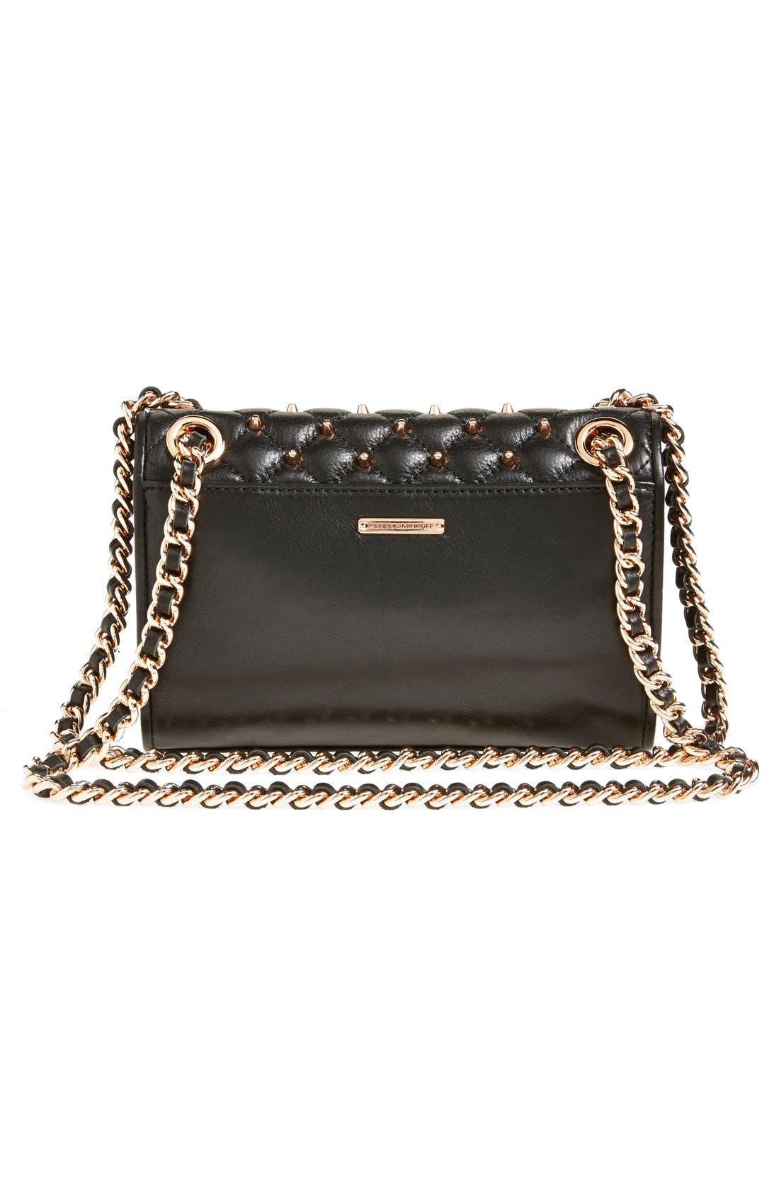 Alternate Image 4  - Rebecca Minkoff 'Mini Quilted Affair with Studs' Shoulder Bag