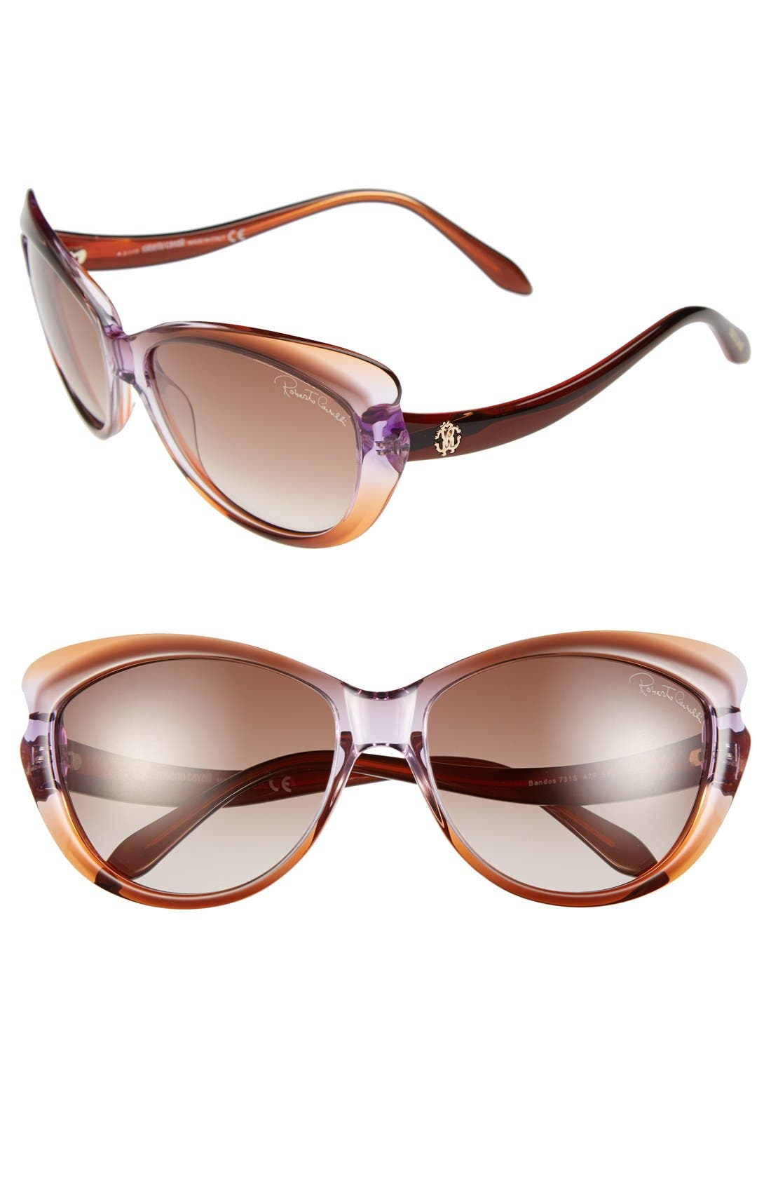 Alternate Image 1 Selected - Roberto Cavalli 59mm Sunglasses