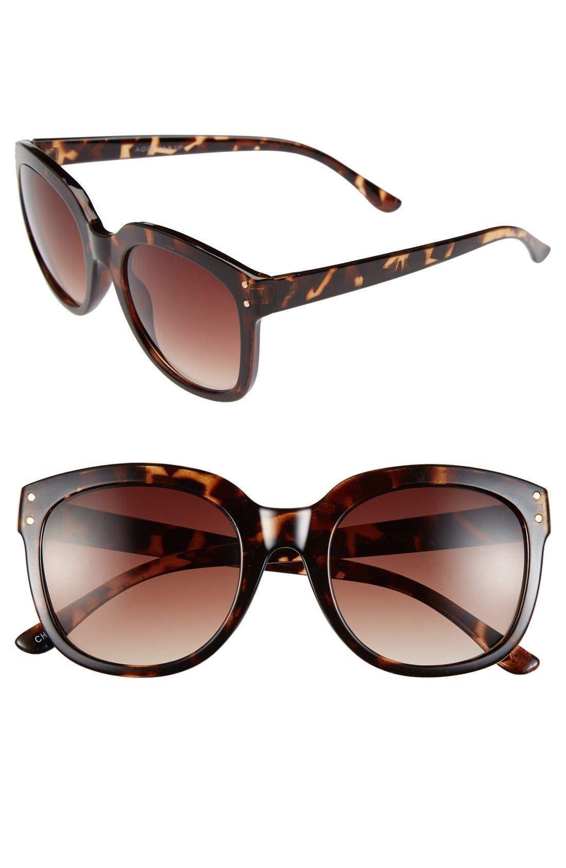 Alternate Image 1 Selected - Fantas Eyes 'Habeas Corpus' Sunglasses (Juniors)