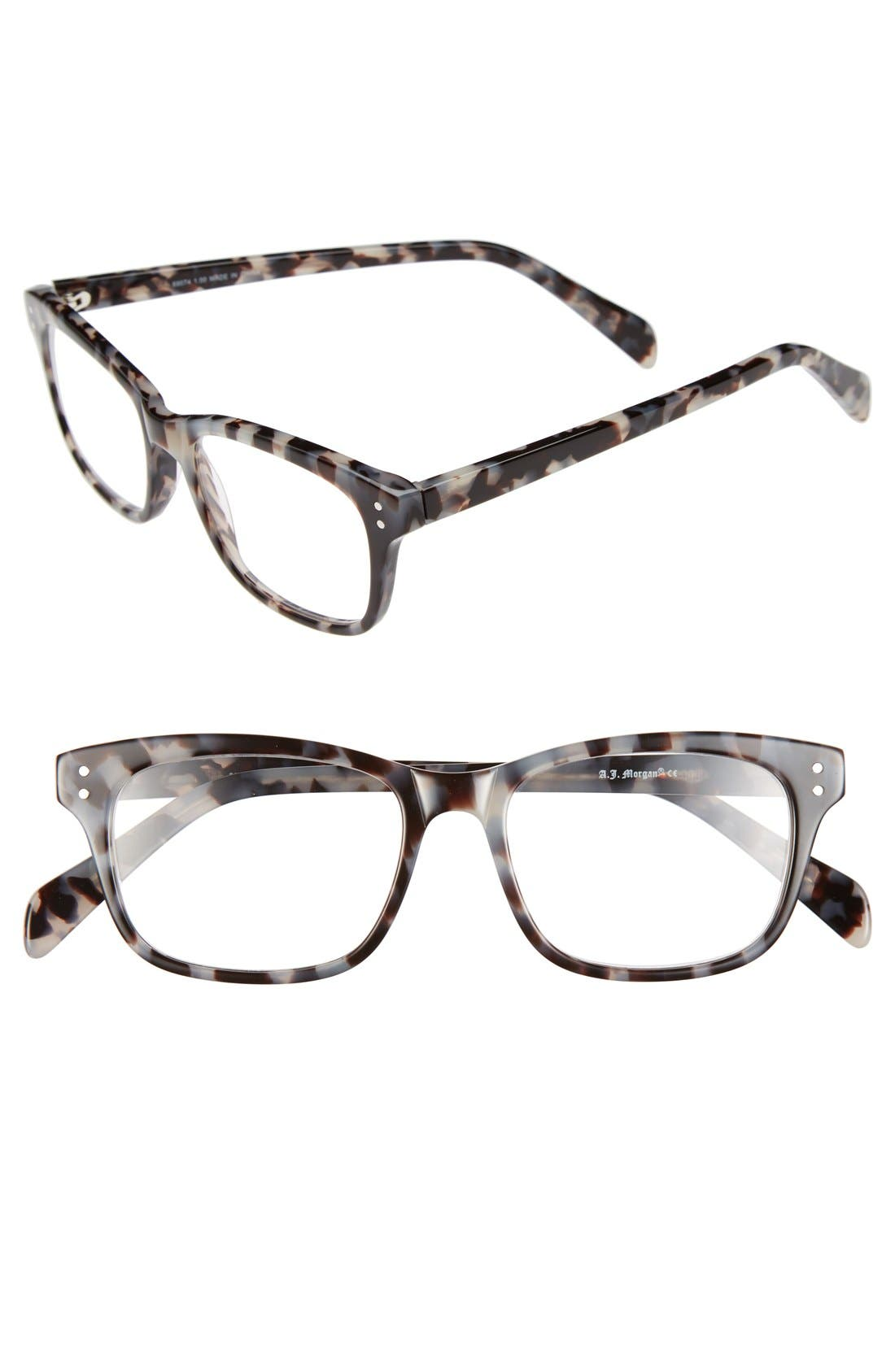 Main Image - A.J. Morgan 'Finn' 48mm Reading Glasses