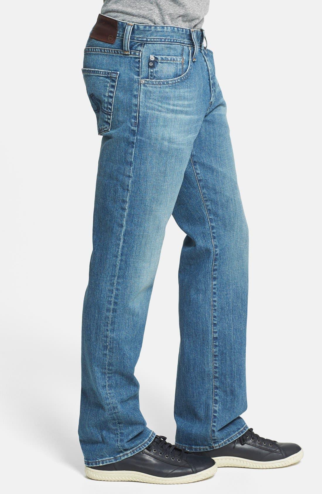 Alternate Image 3  - AG 'Protégé' Straight Leg Jeans (Subterranean)