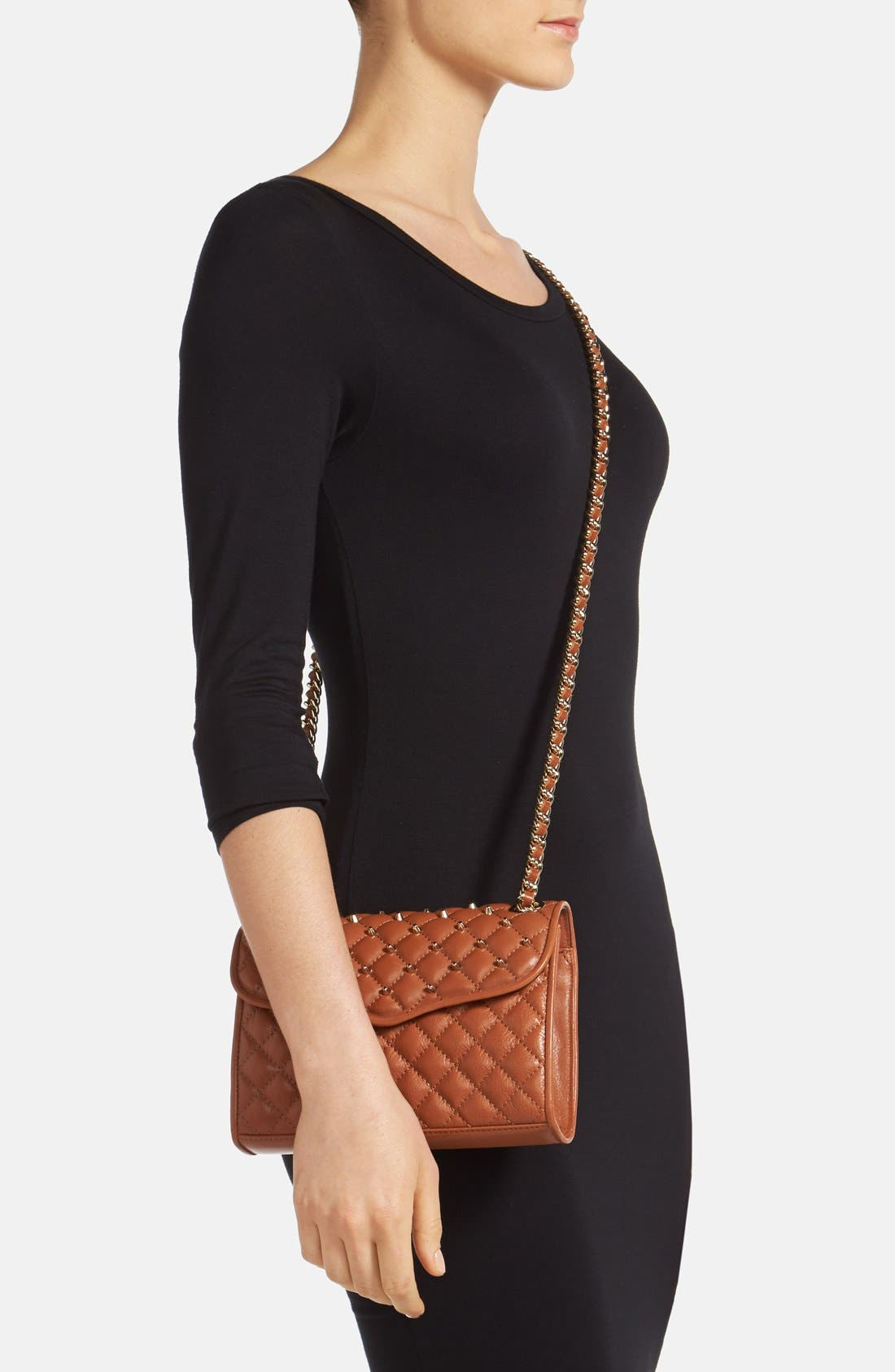 Alternate Image 2  - Rebecca Minkoff 'Mini Quilted Affair with Studs' Shoulder Bag