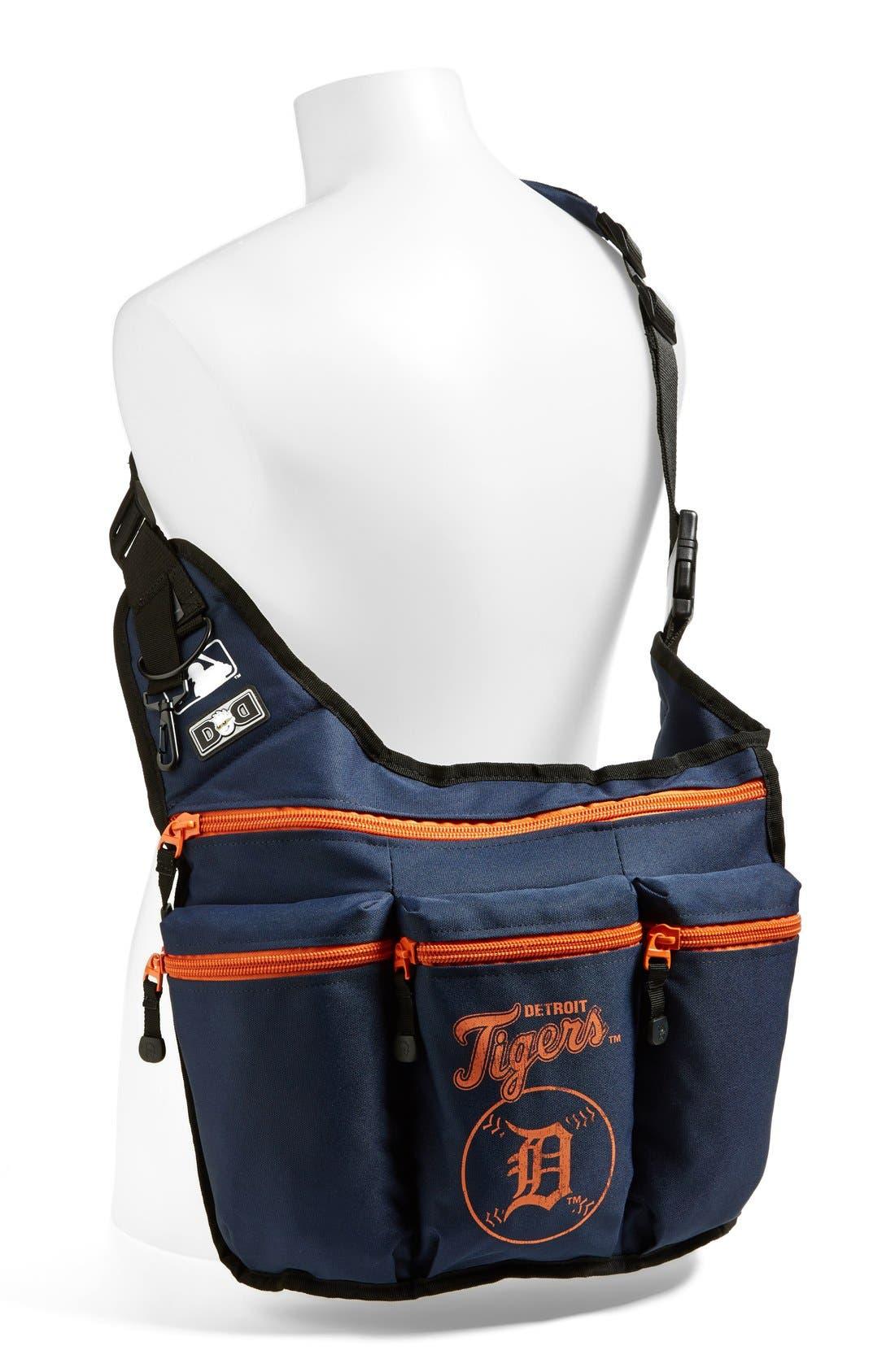 Alternate Image 2  - Diaper Dude 'Detroit Tigers' Messenger Diaper Bag