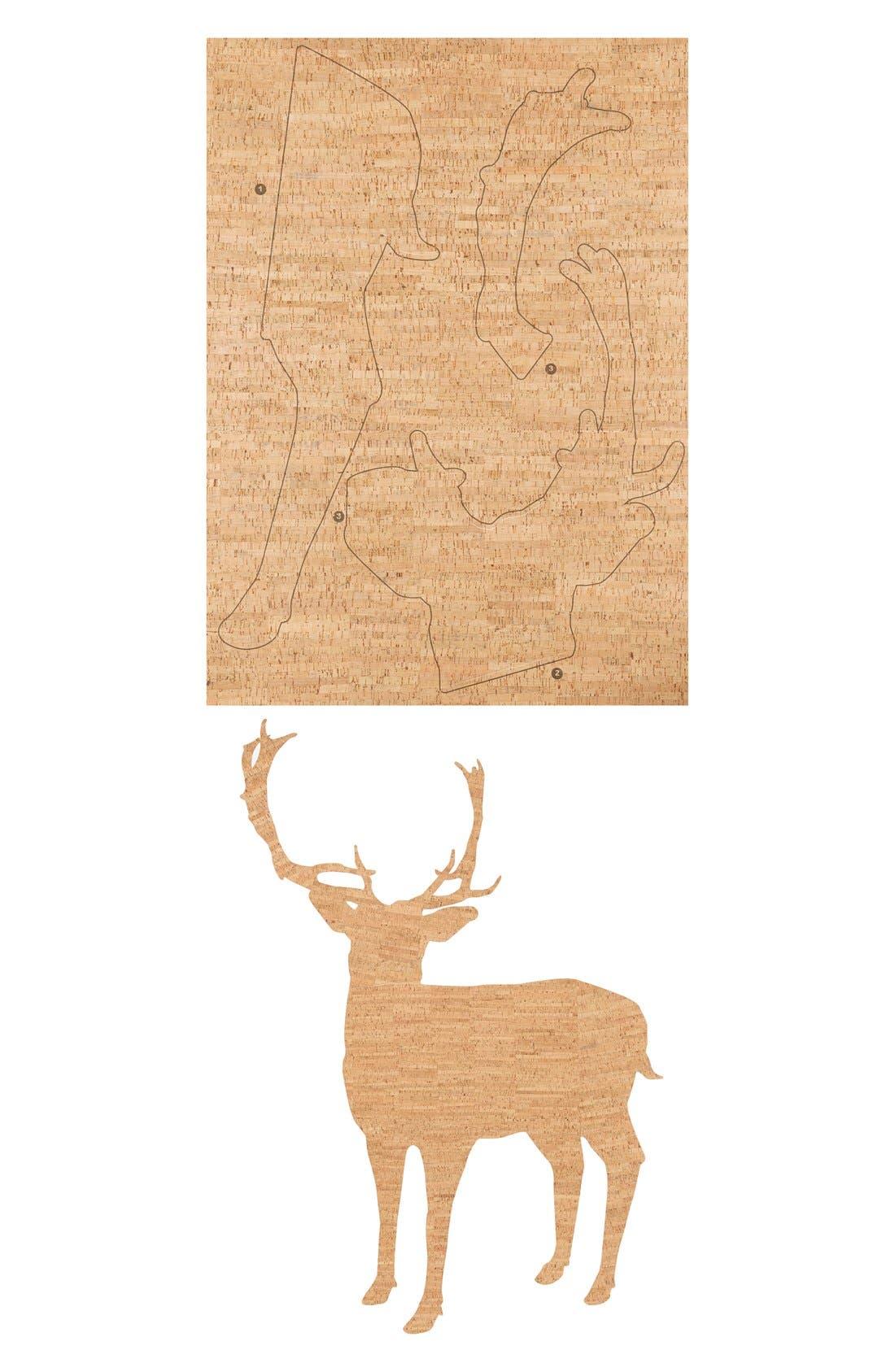 Alternate Image 2  - Wallpops 'Deer' Cork Wall Art