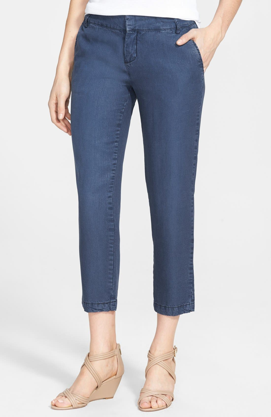 Main Image - KUT from the Kloth Relaxed Crop Trouser Jeans