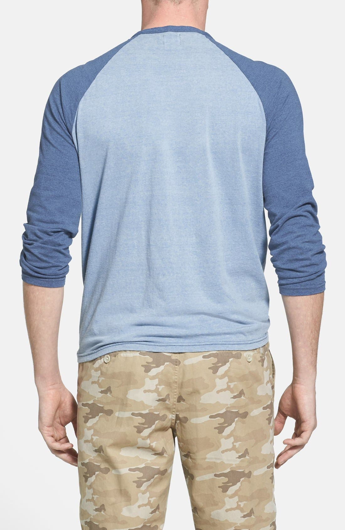 Alternate Image 2  - Faherty Raglan Sleeve Baseball T-Shirt