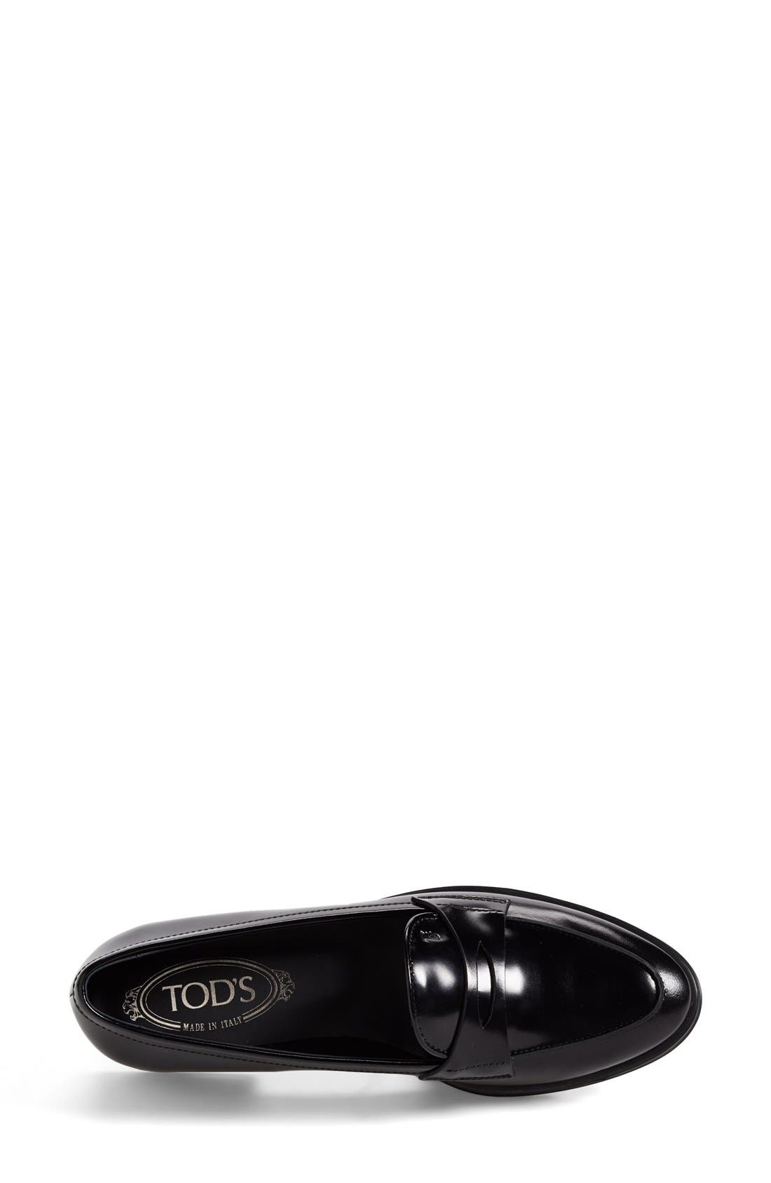 Alternate Image 3  - Tod's Leather Penny Loafer (Women)
