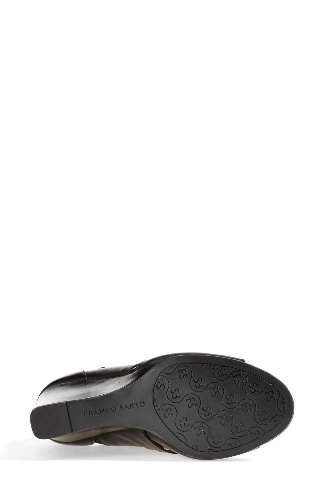 Alternate Image 4  - Franco Sarto 'Faryn' Wedge Sandal (Online Only) (Women)