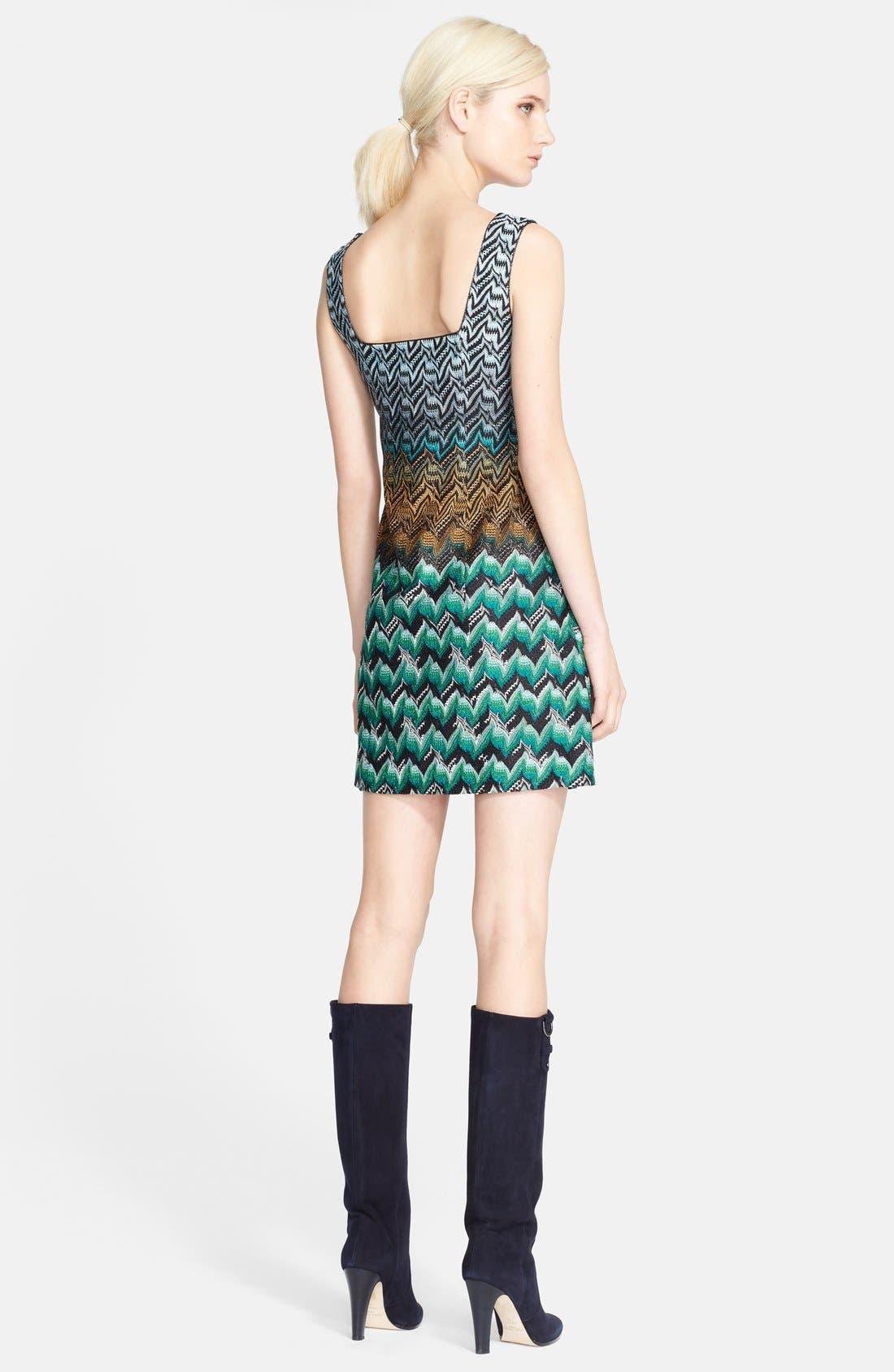 Alternate Image 2  - Missoni Square Back Minidress