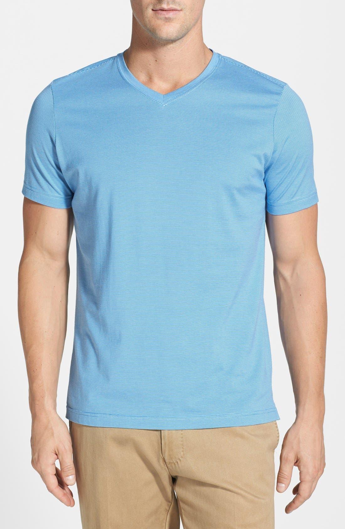 Alternate Image 1 Selected - Robert Barakett 'Armand' Modern Fit V-Neck T-Shirt