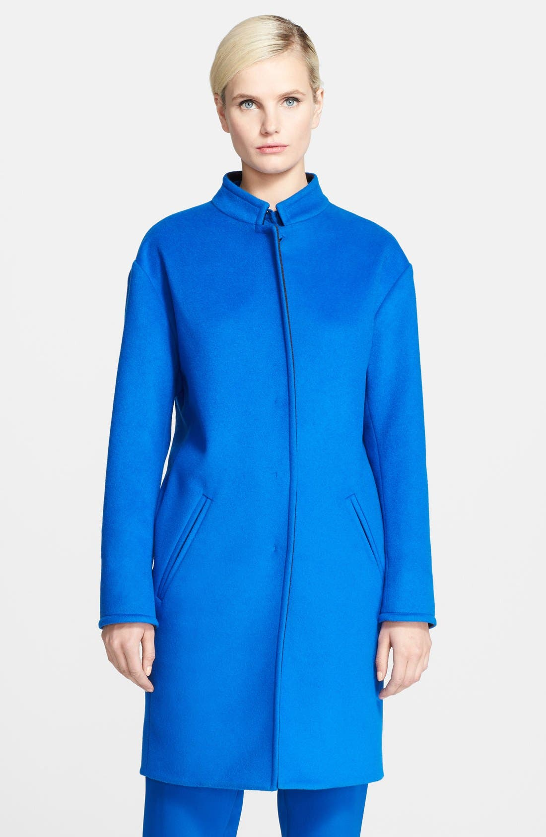 Alternate Image 2  - Cédric Charlier Wool & Cashmere Coat