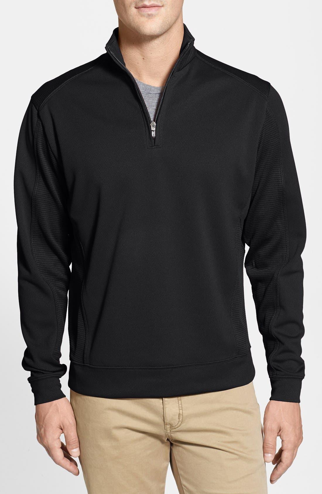 Cutter & Buck DryTec Half Zip Pullover