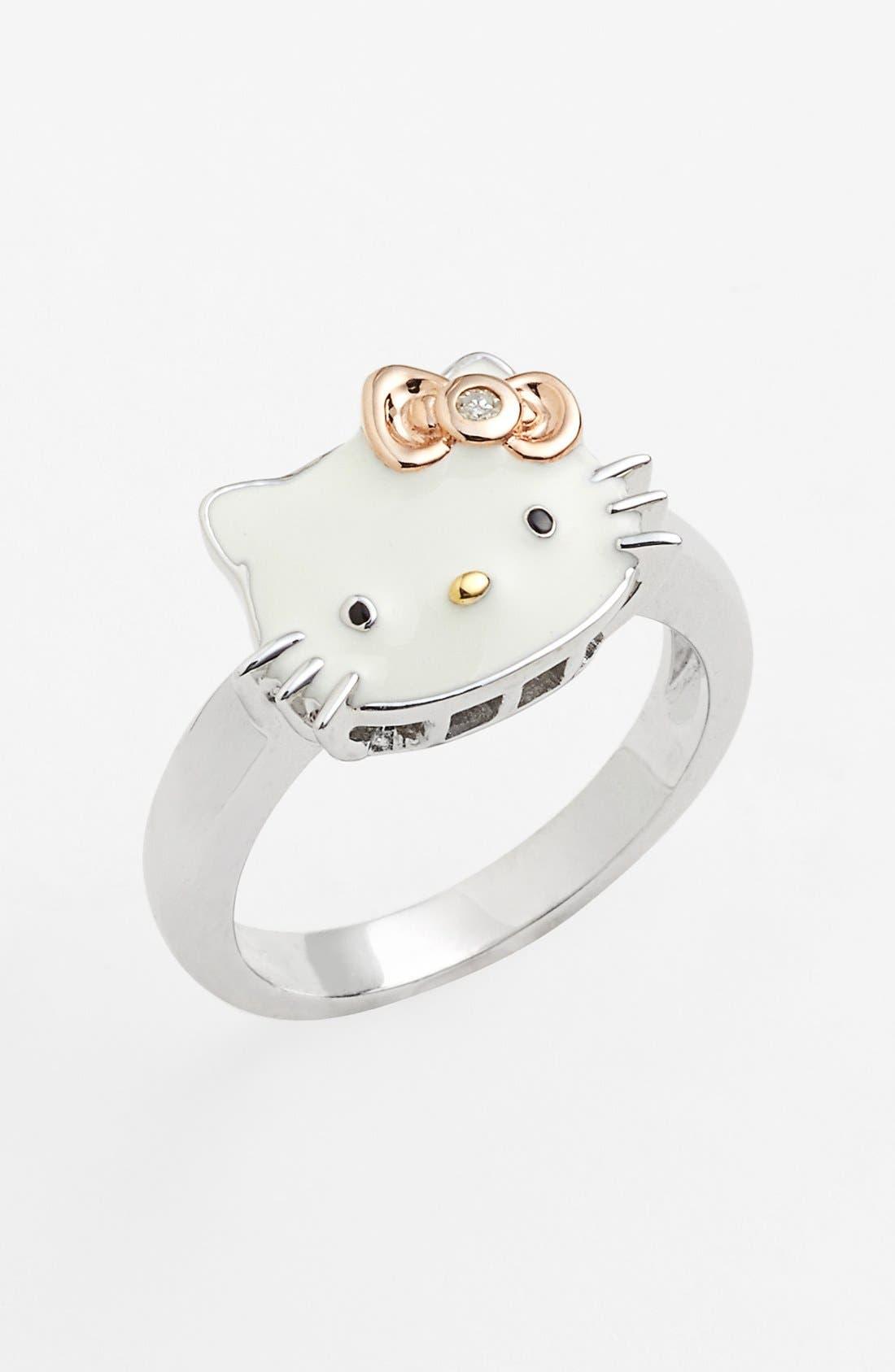 Main Image - Hello Kitty® Diamond Ring (Nordstrom Exclusive)