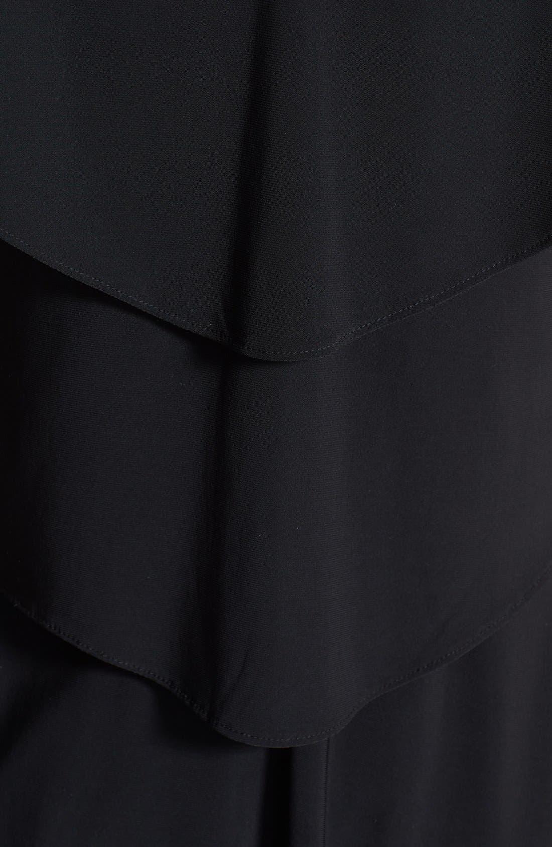 Alternate Image 4  - Patra Embellished Tiered Jersey Dress