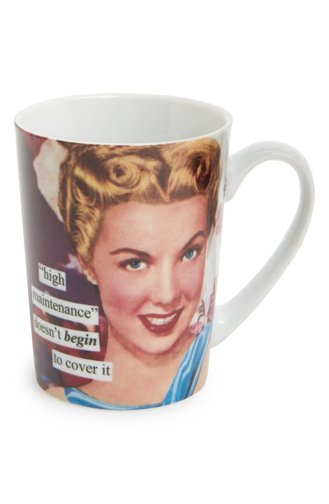 Alternate Image 1 Selected - Anne Taintor 'High Maintenance Doesn't BEGIN to Cover It' Mug