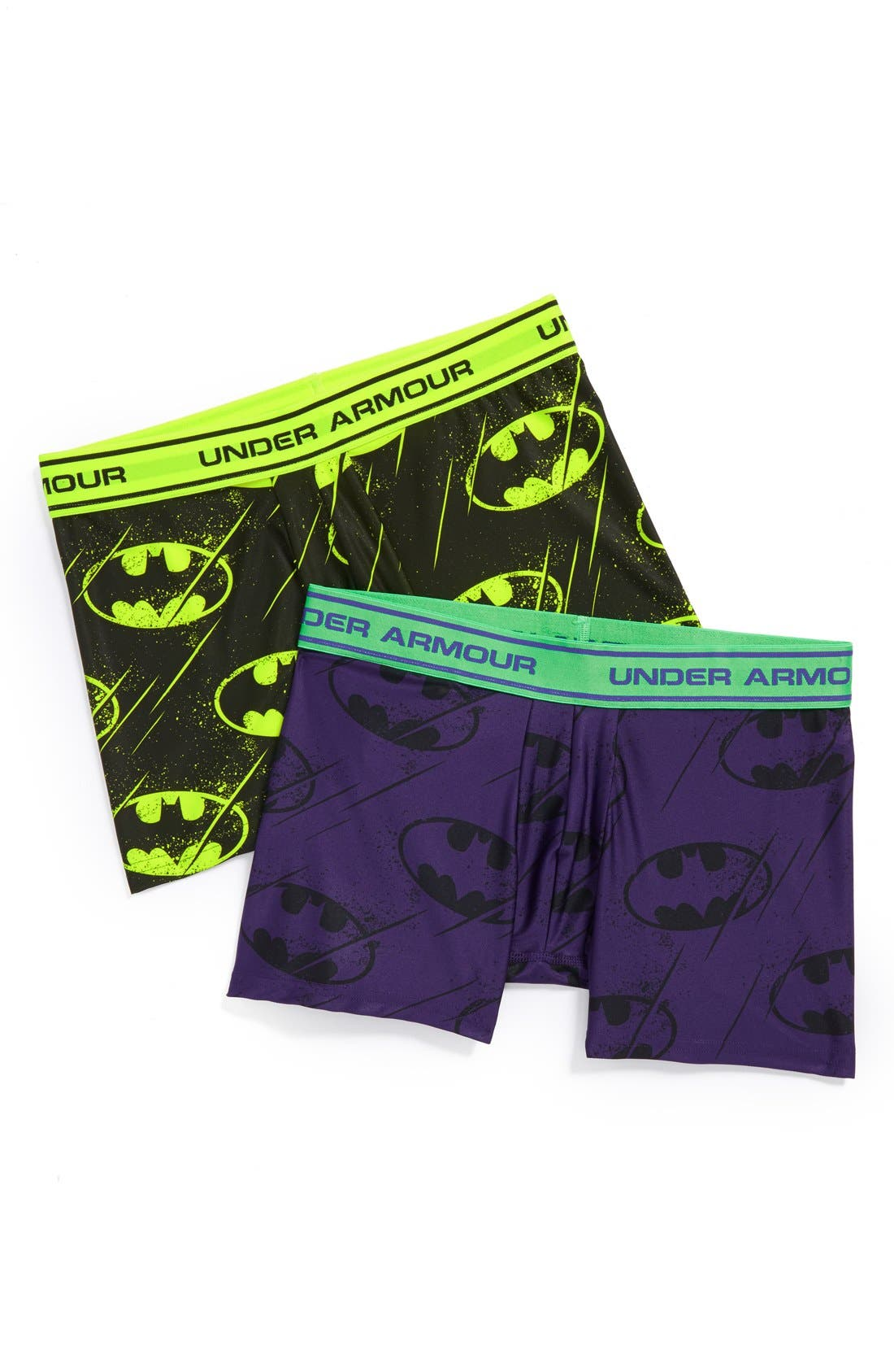 Main Image - Under Armour 'Alter Ego - Spiderman®' Boxer Briefs (Big Boys)