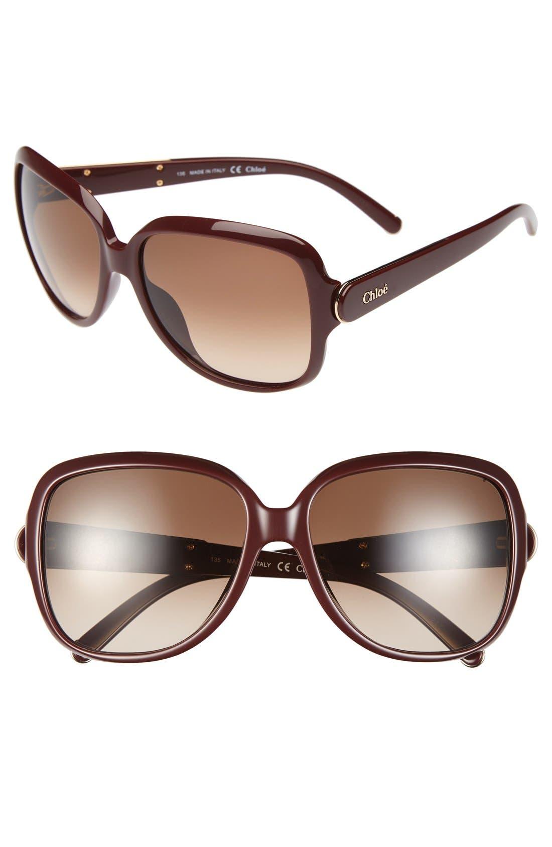 Alternate Image 1 Selected - Chloé 59mm Sunglasses