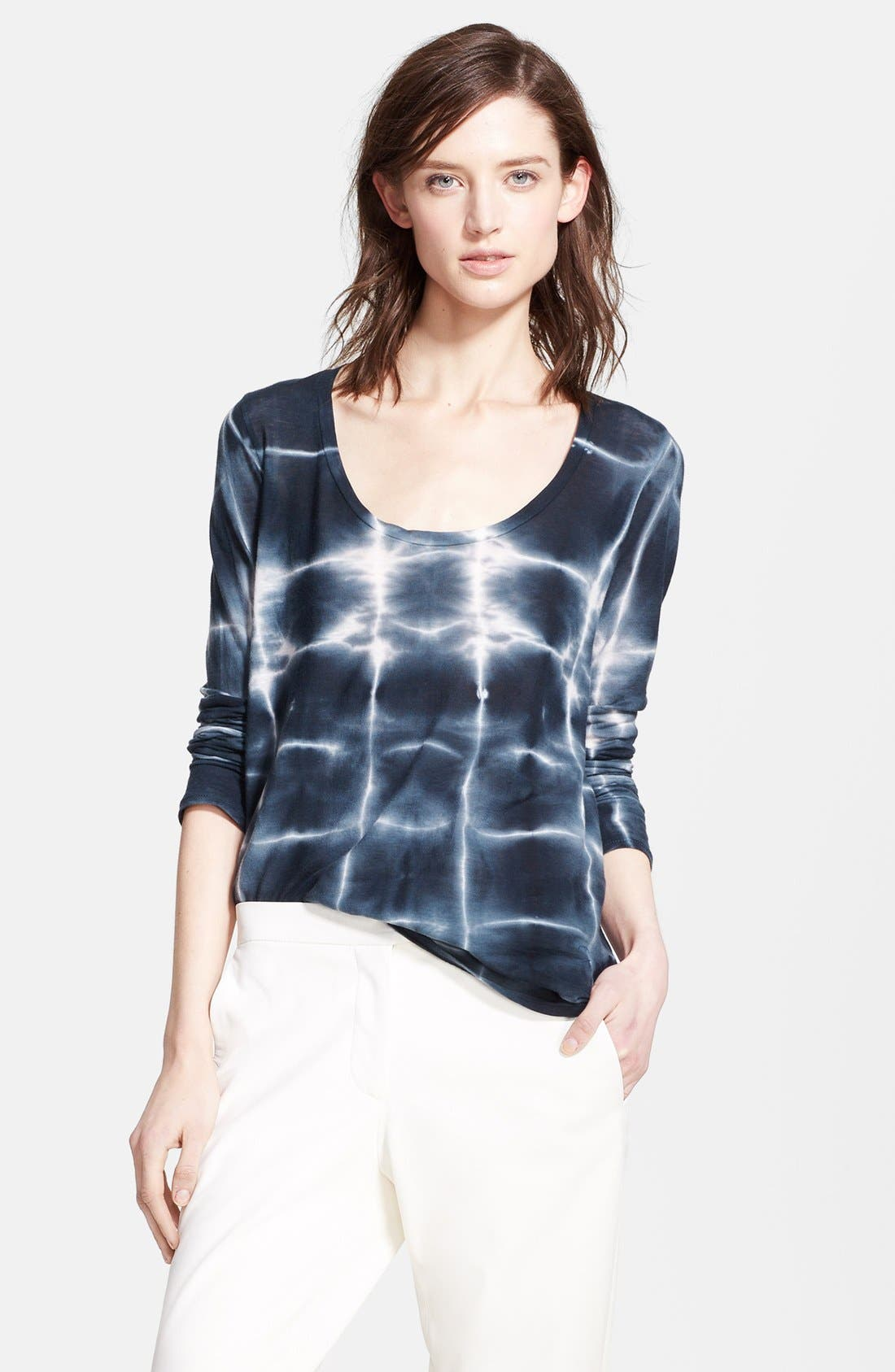 Main Image - Whetherly 'Waverly' Long Sleeve Scoop Neck Tee