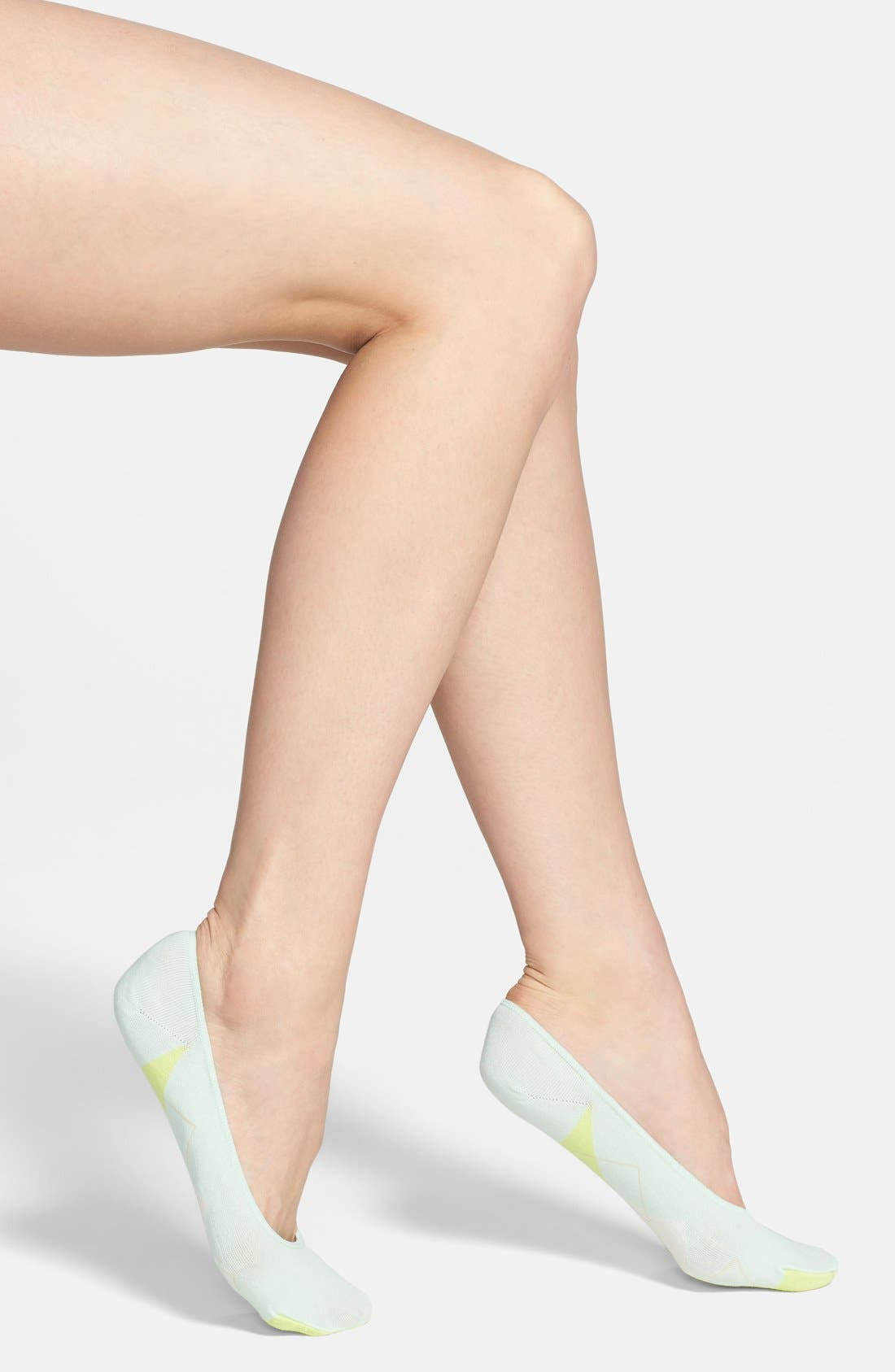 Alternate Image 1 Selected - kate spade new york argyle sock liners