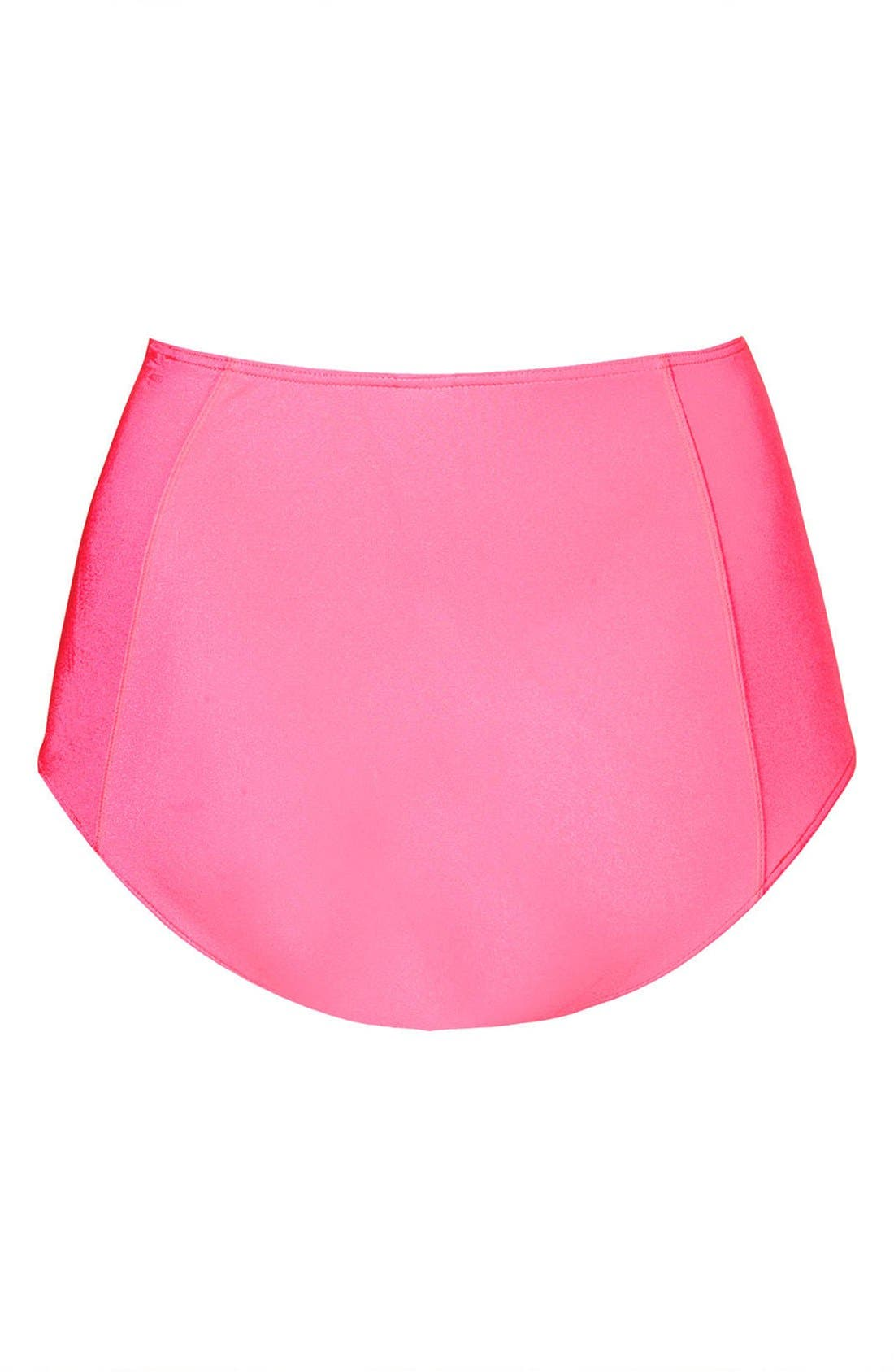 Alternate Image 2  - Topshop High Waist Bikini Bottoms