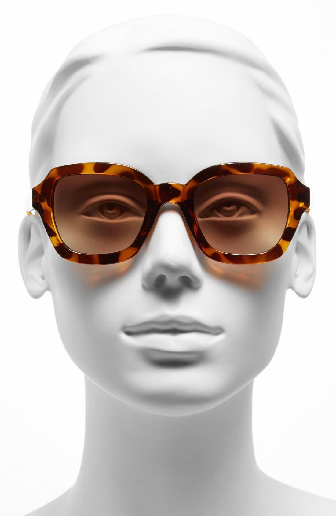Alternate Image 2  - FE NY 'Paige' 47mm Sunglasses
