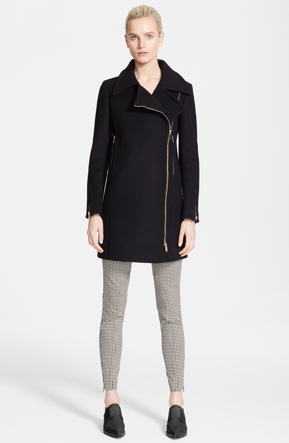 Alternate Image 3  - Stella McCartney Melton Wool Blend Coat