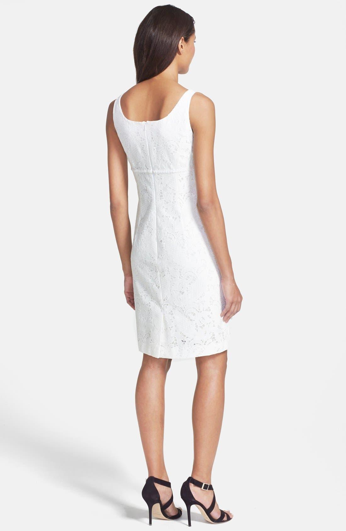 Alternate Image 2  - Tahari Lace Dress & Jacket