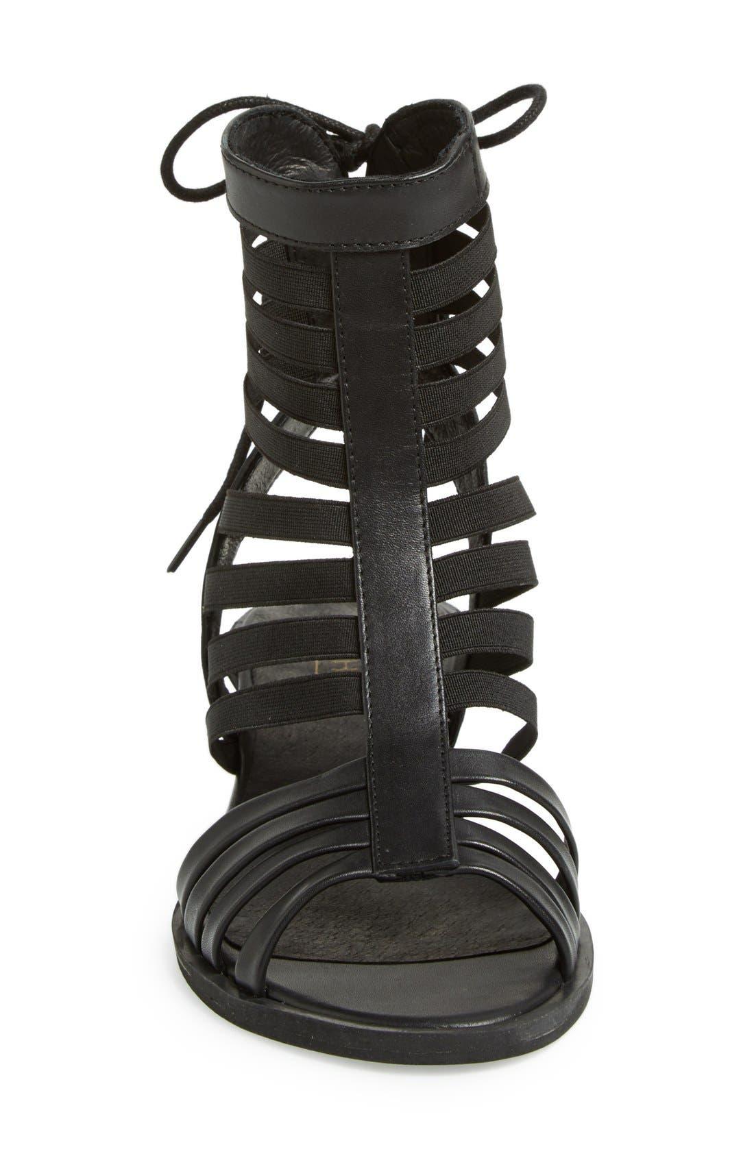 Alternate Image 3  - Topshop 'Foil' Gladiator Sandal (Women)