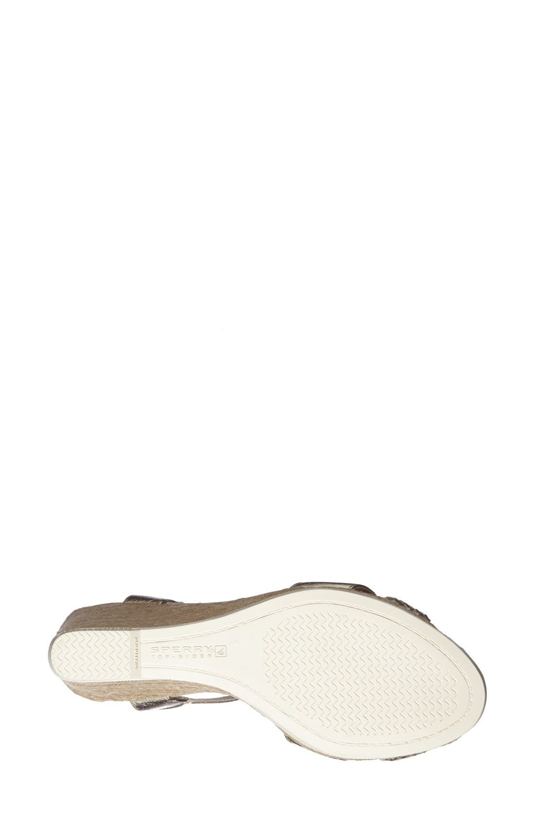 Alternate Image 4  - Sperry Top-Sider® 'Saylor' Wedge Sandal (Women)