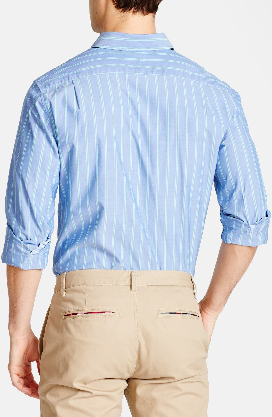 Alternate Image 2  - Bonobos 'Glassop' Standard Fit Stripe Sport Shirt