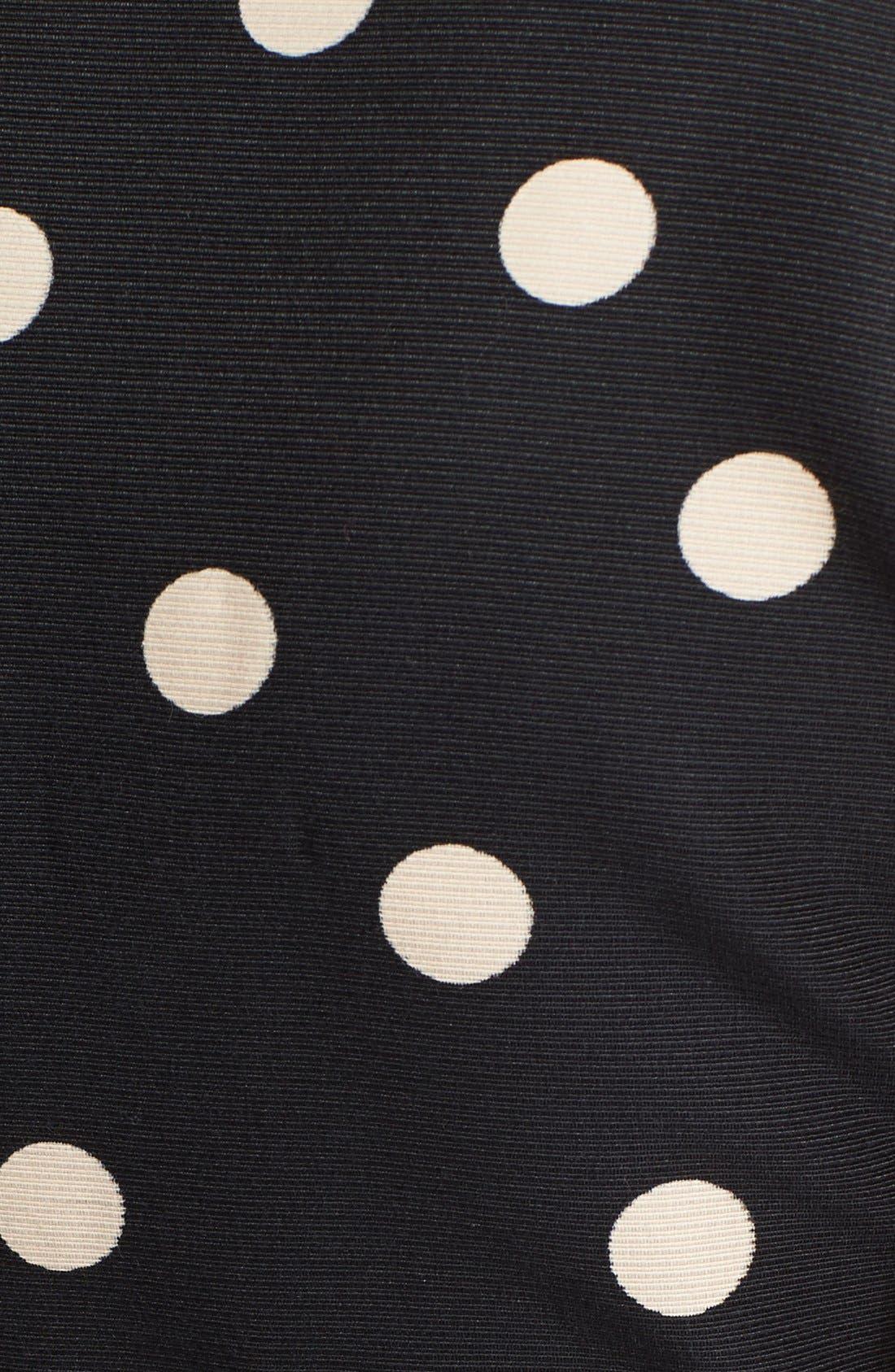 Alternate Image 3  - kate spade new york 'deco dot' fit & flare dress