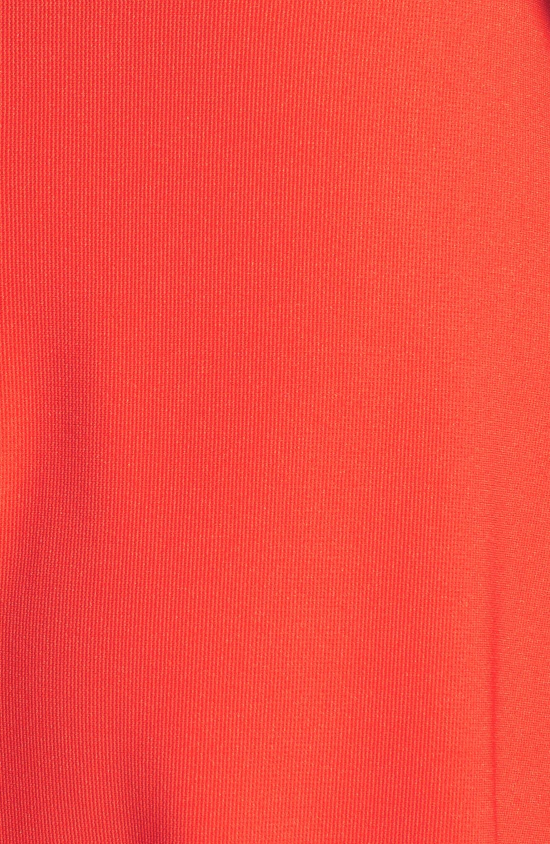 Alternate Image 3  - Lush Strapless Bustier Stretch Knit Dress (Juniors)