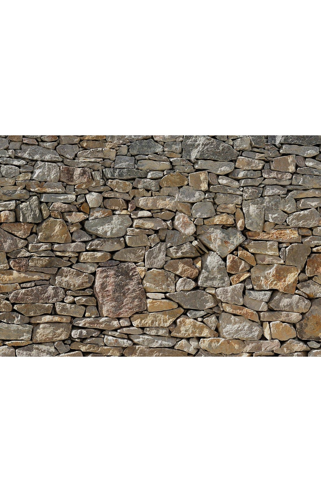 Stone Wall Mural,                             Main thumbnail 1, color,                             Brown