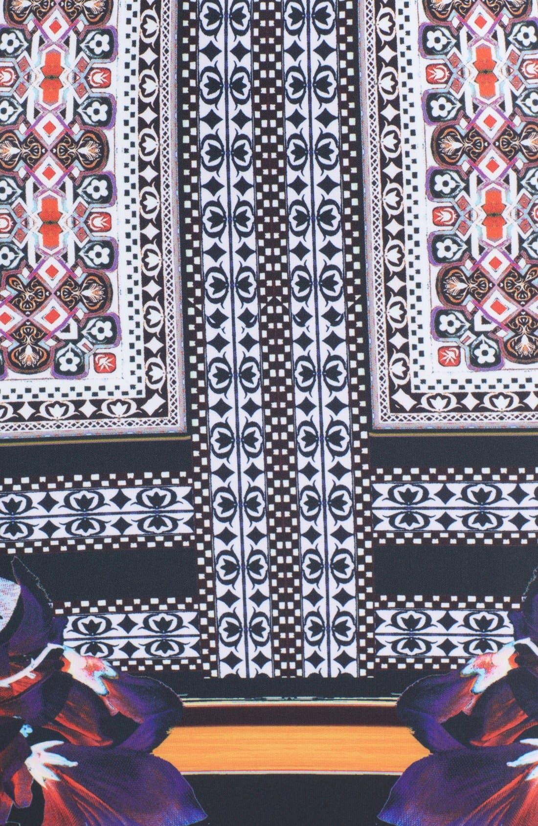 Alternate Image 3  - Clover Canyon 'Irish Box' Print Neoprene Sheath Dress