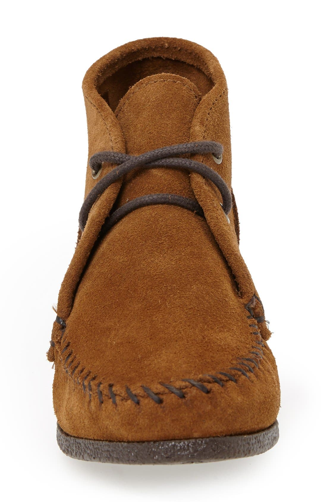 Alternate Image 3  - Minnetonka Chukka Wedge Bootie (Women)