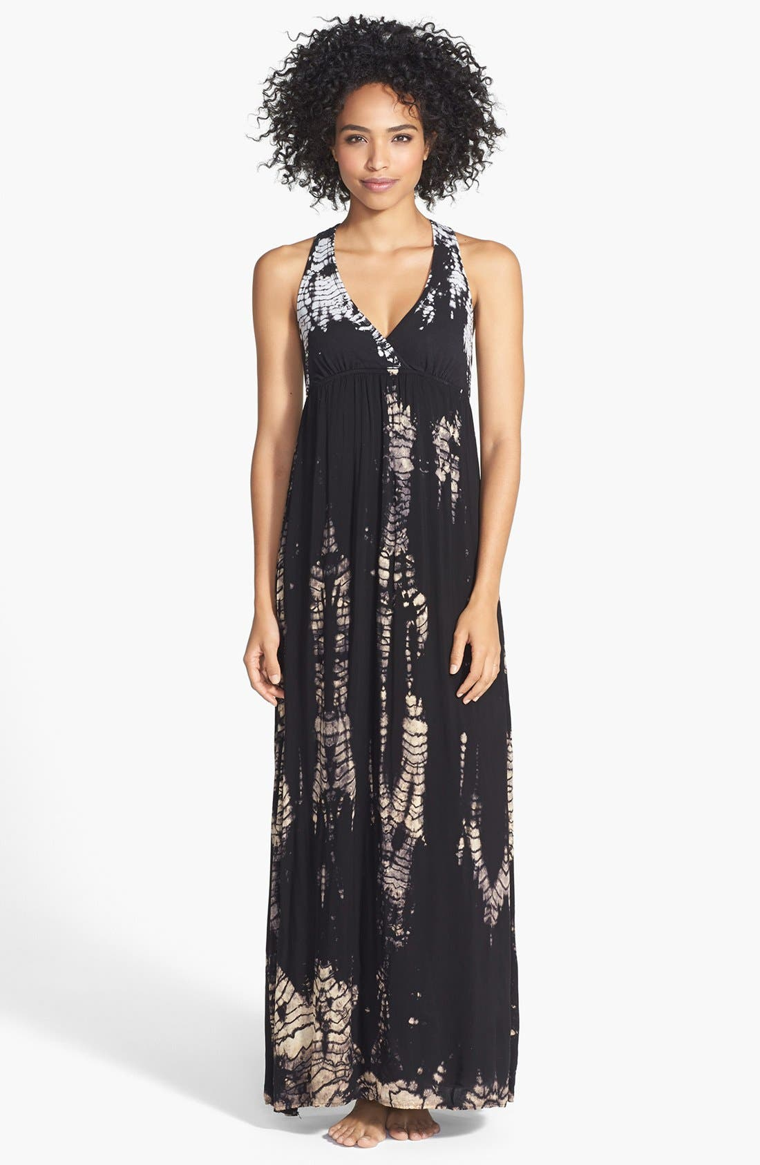 Alternate Image 1 Selected - Hard Tail Twisty Back Maxi Dress