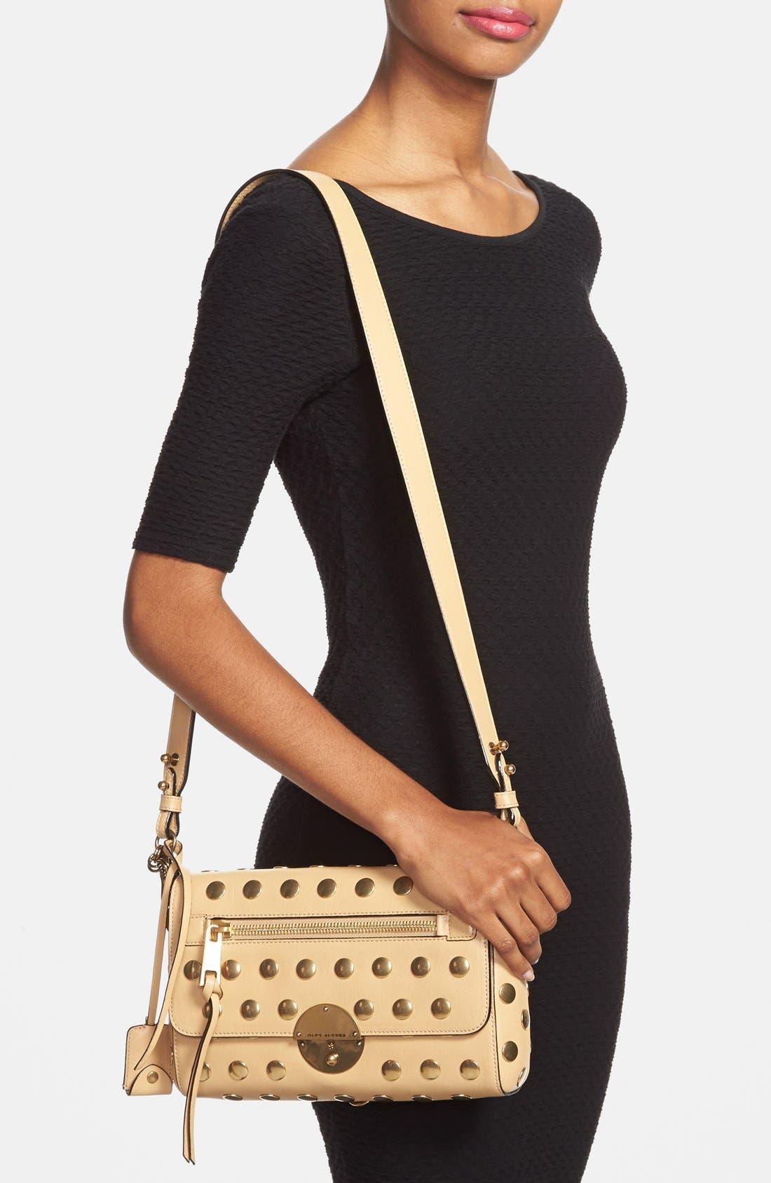 Alternate Image 2  - Marc Jacobs 'Small Gotham' Flat Stud Leather Shoulder Bag