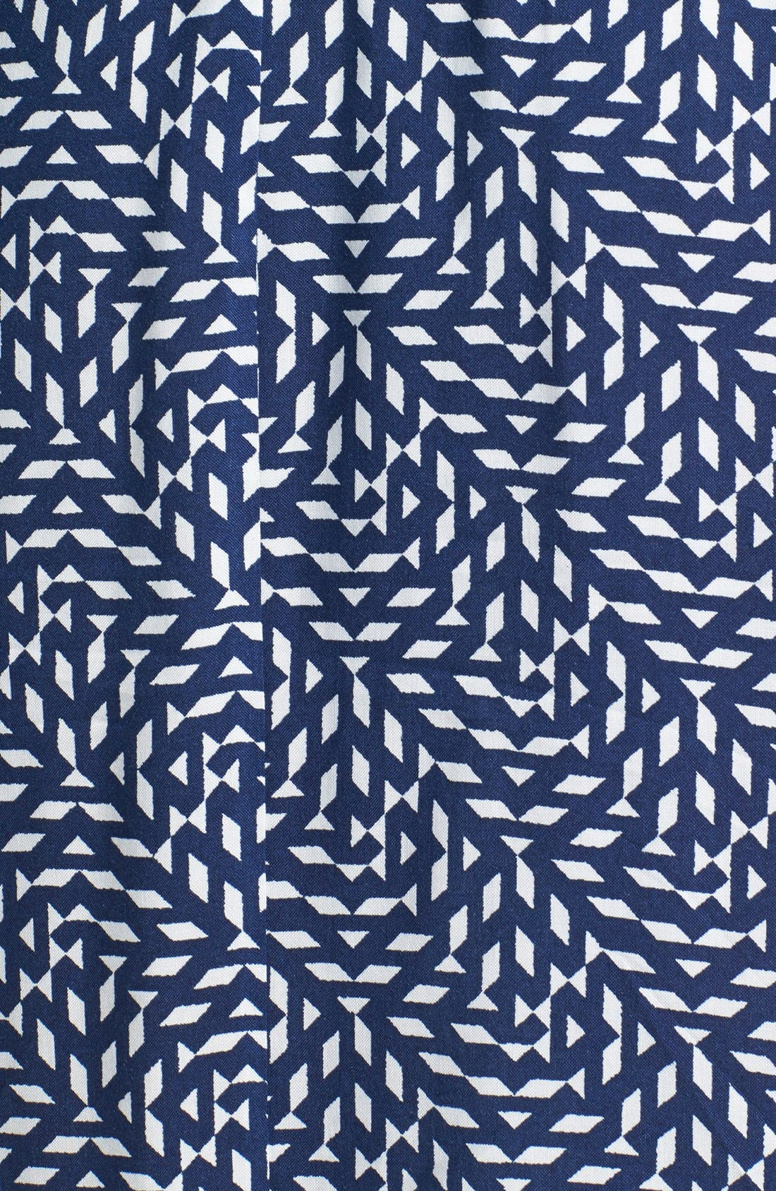 Alternate Image 3  - dee elle Embroidered Print Maxi Dress (Juniors)