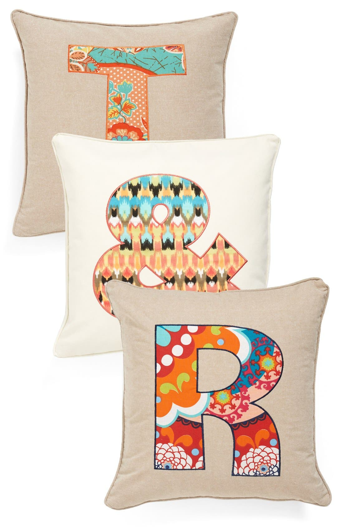 Alternate Image 1 Selected - Levtex 'Letter' Accent Pillow