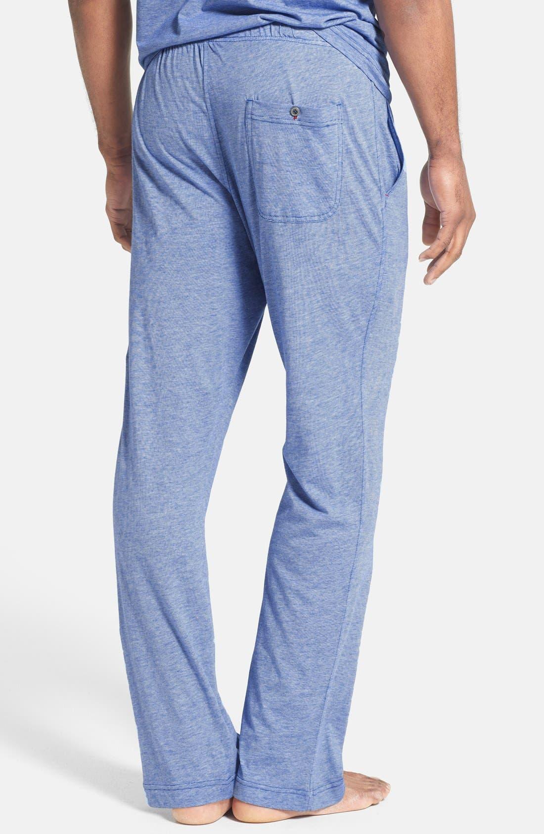 Alternate Image 2  - Daniel Buchler Pima Cotton & Modal Lounge Pants