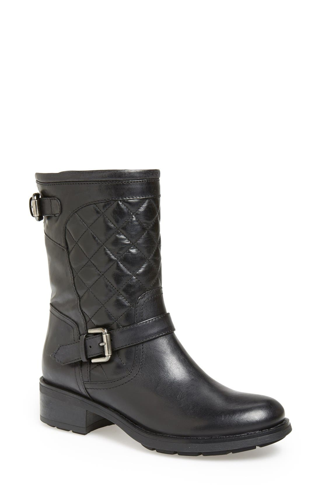 by Marvin K. 'Sweetie' Short Boot,                             Main thumbnail 1, color,                             Black Antique Calf
