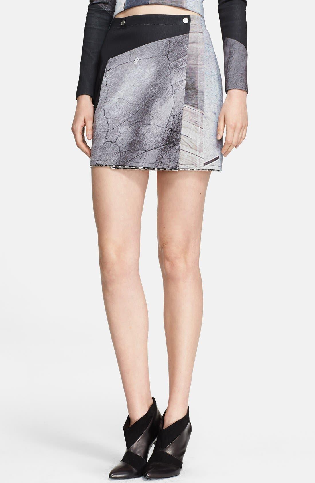 Alternate Image 3  - Yigal Azrouël Print Adjustable Length Skirt